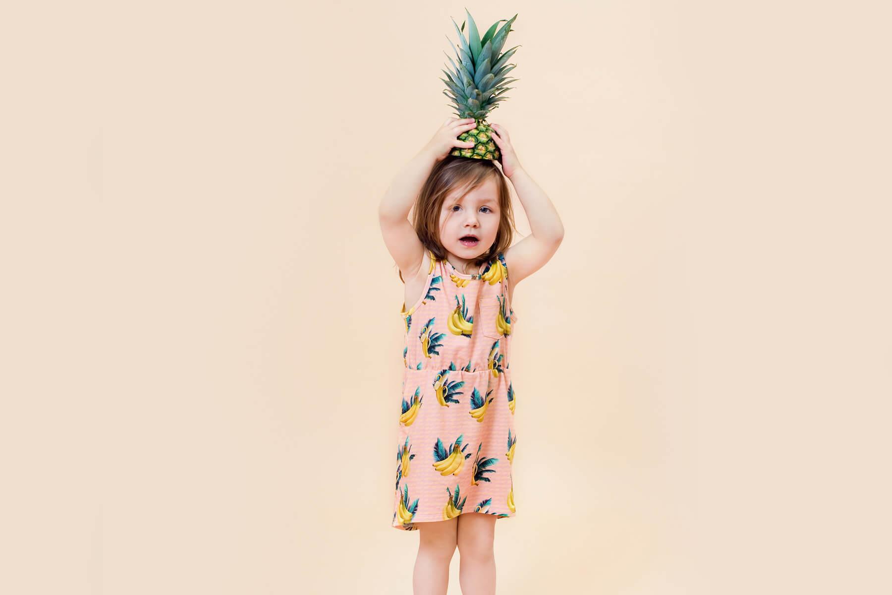Little Man Happy BANANA SKY Pocket Dress Mood