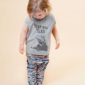 Little Man Happy IGUANA LIFE Shirt WAVES Summer Baggy Pants Mood