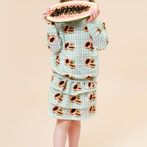 Little Man Happy MAYA PAPAYA Cropped Sweater MAYA PAPAYA Volant Skirt Mood