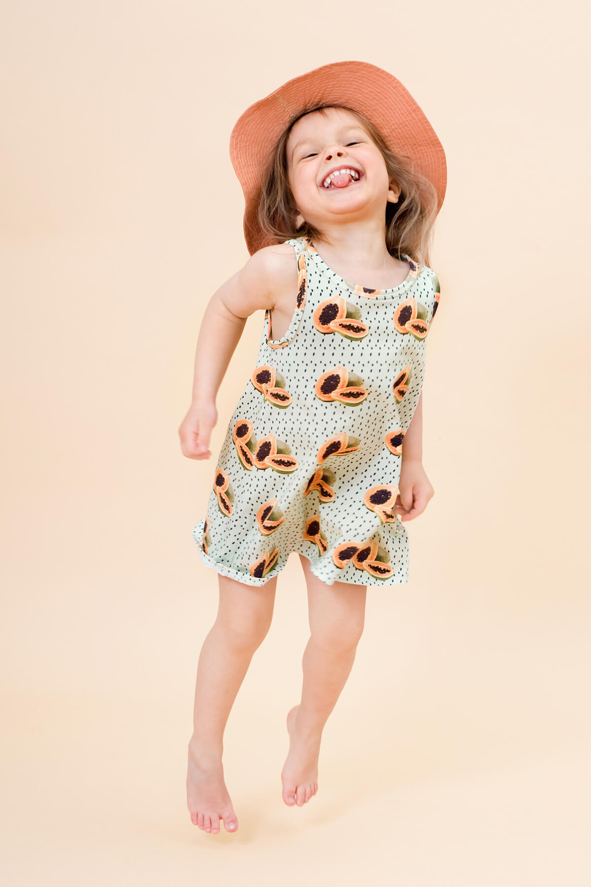 Little Man Happy MAYA PAPAYA Tank Dress Mood II