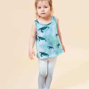 Little Man Happy MIAMI TURTLE Tank OMBRE Leggings Mood I