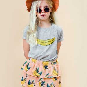 Little Man Happy PURE BANANA Raglan Shirt BANANA SKY Volant Dress Mood II