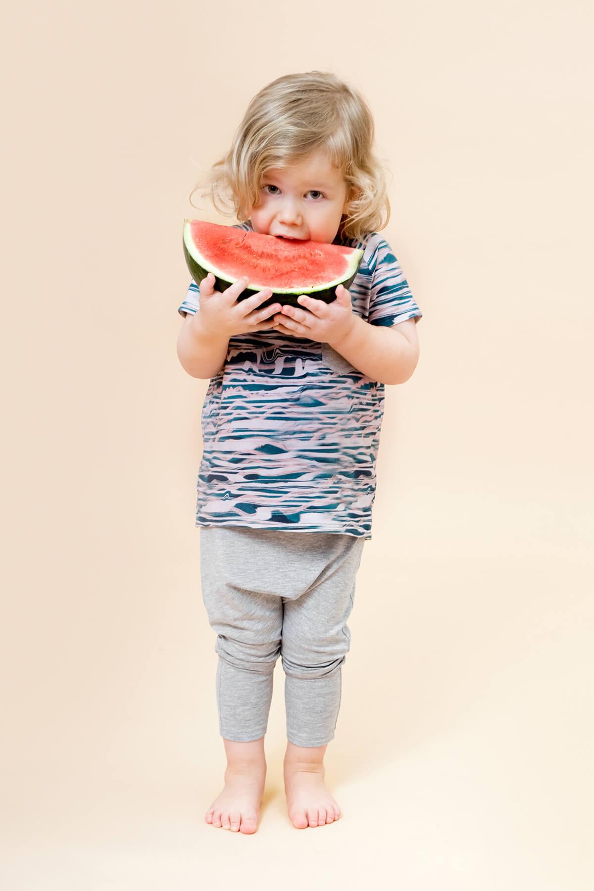 Little Man Happy WAVES Pocket Shirt ALL GREY Summer Baggy Pants Mood