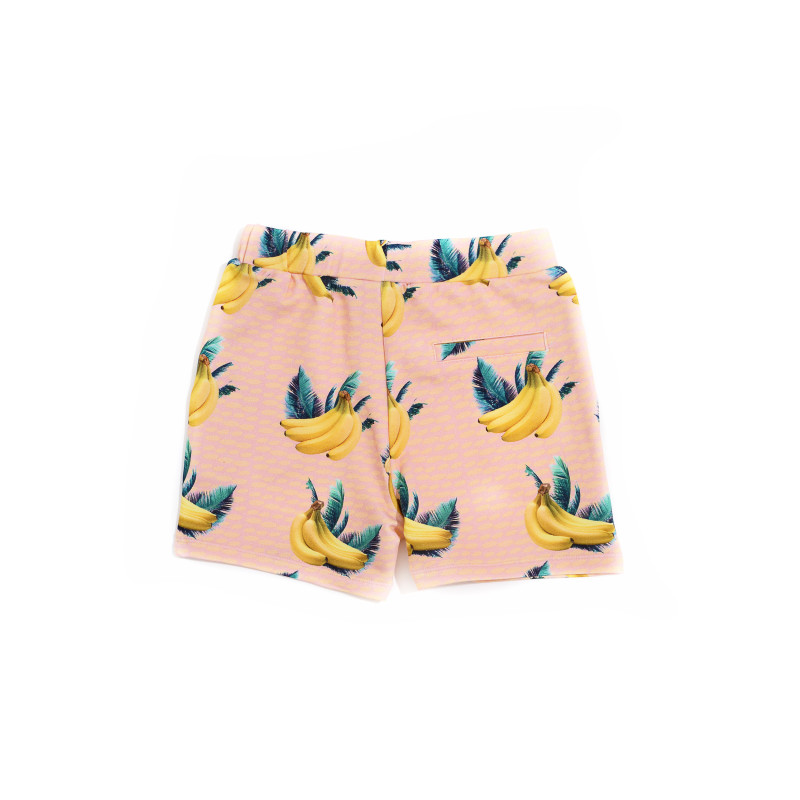 Little Man Happy BANANA SKY Bermuda Shorts back