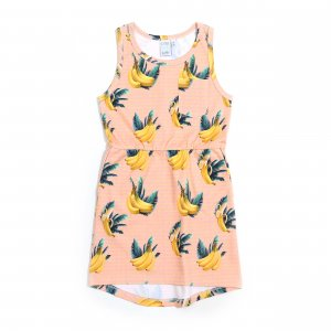 Little Man Happy BANANA SKY Pocket Dress
