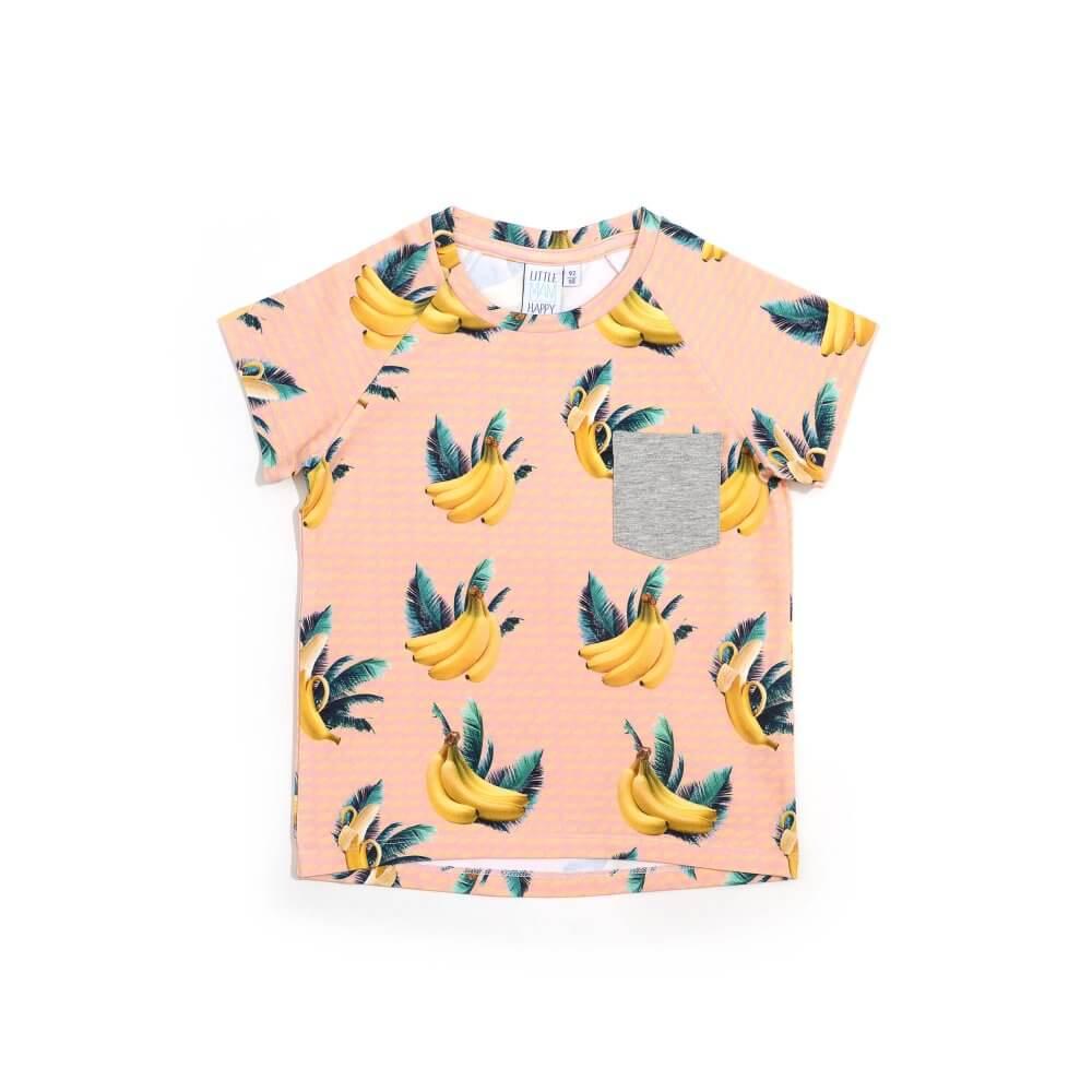 Little Man Happy BANANA SKY Pocket Shirt