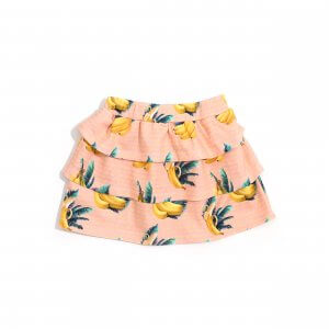 Little Man Happy BANANA SKY Volant Skirt