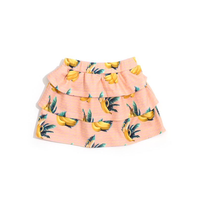 Little Man Happy BANANA SKY Volant Skirt
