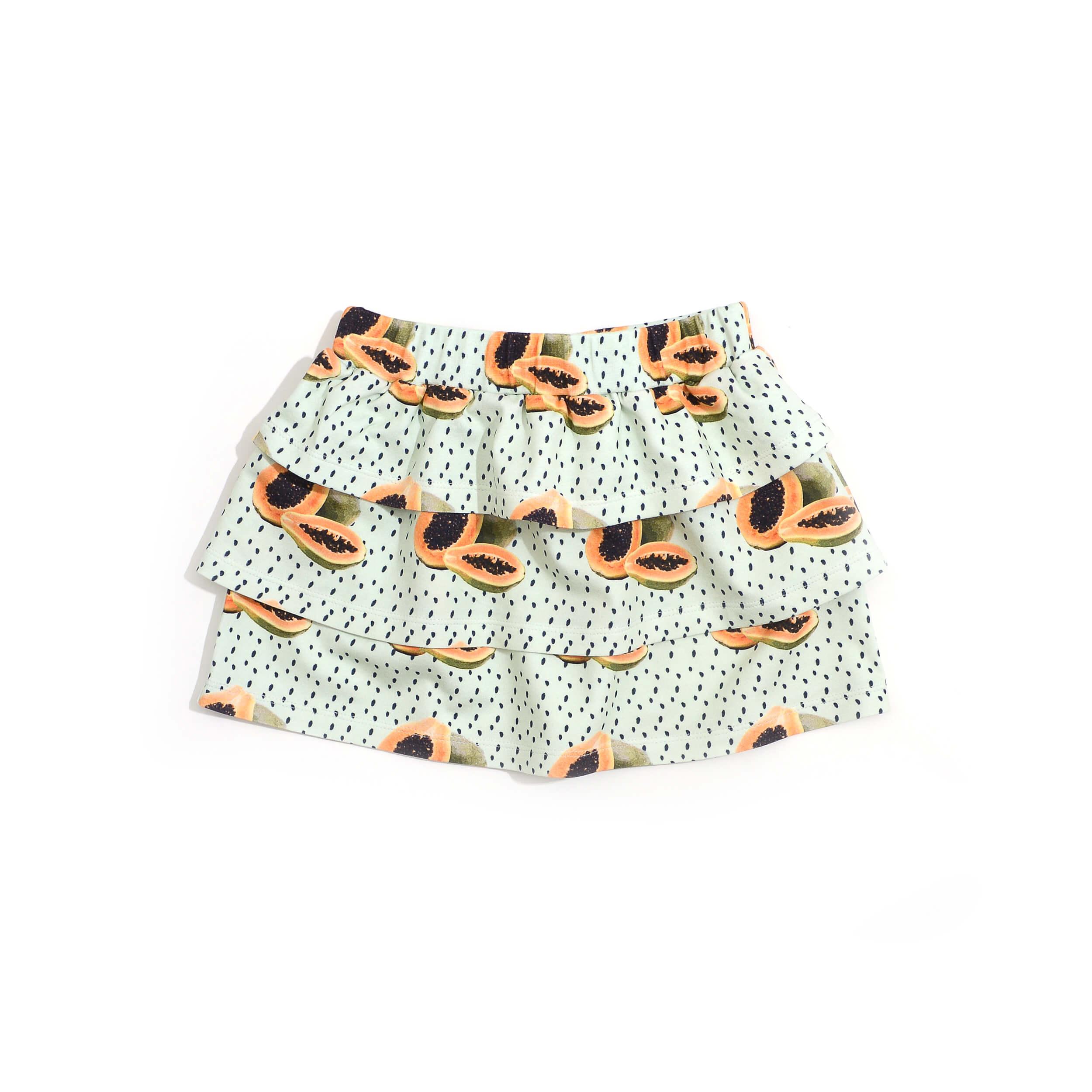Little Man Happy MAYA PAPAYA Volant Skirt