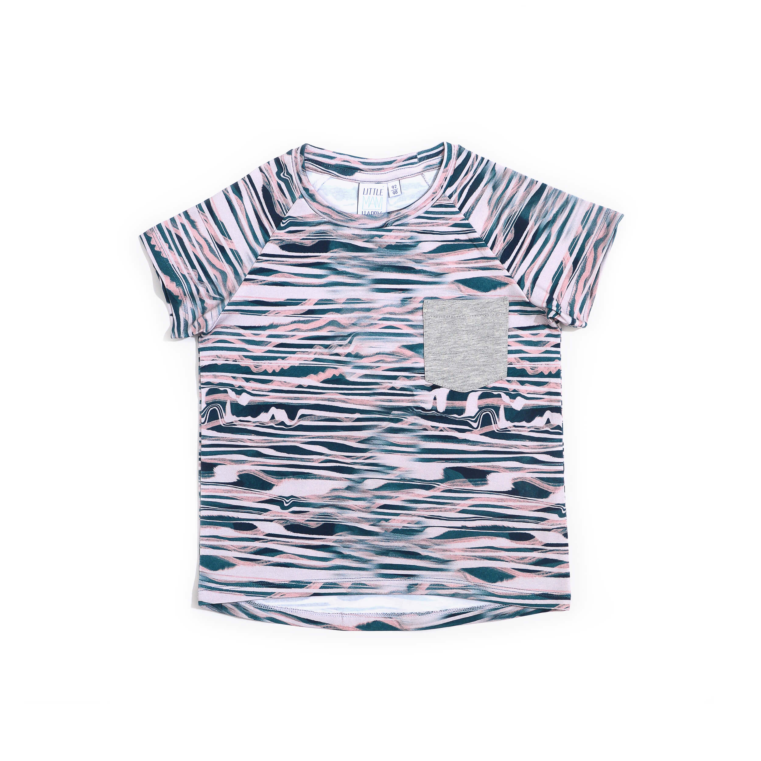 Little Man Happy WAVES Pocket Shirt