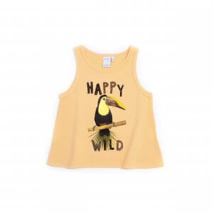 Little Man Happy WILD TUCANO Tank orange