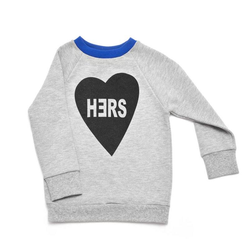 belong to her sweater