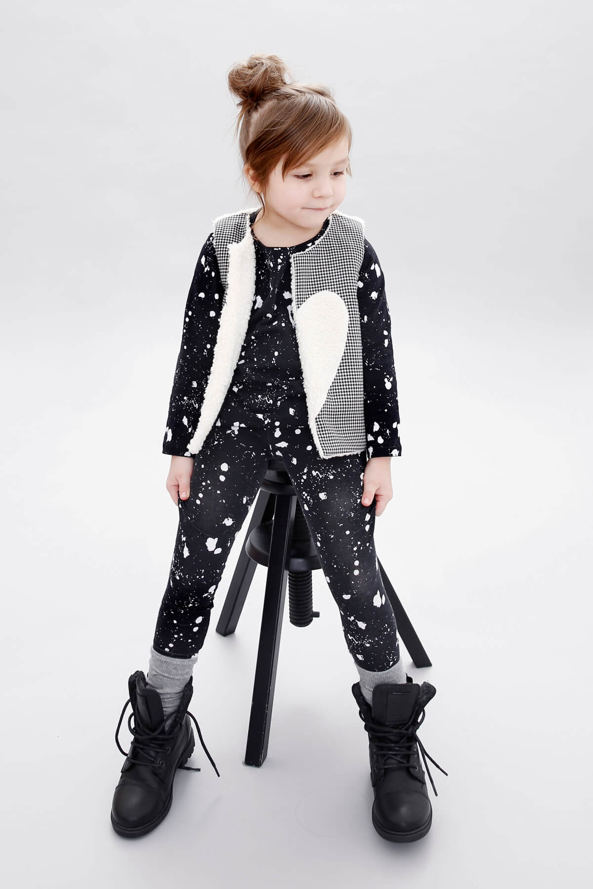 belong to you reversible vest galaxy longsleeve galaxy leggings