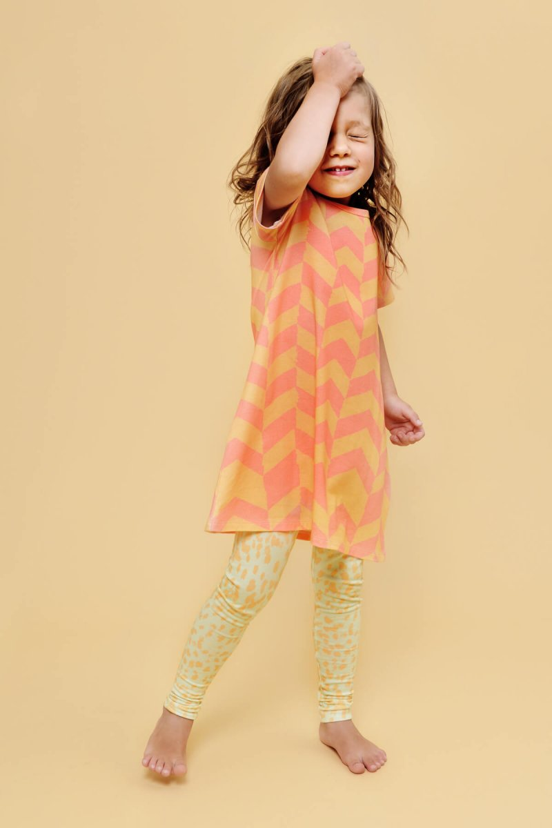 girls designer wear | organic | certified | Little Man Happy