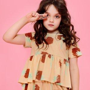 girls organic dress | designerwear | certified | Little Man Happy