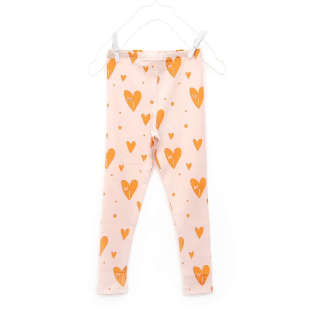 designer girls leggings | organic | certified | Little Man Happy