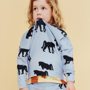 organic kids sweater | unisex | certified | Little Man Happy