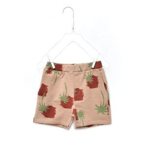organic kids shorts | unisex | certified | Little Man Happy