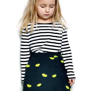 organic girls skirt | unique | certified | Little Man Happy