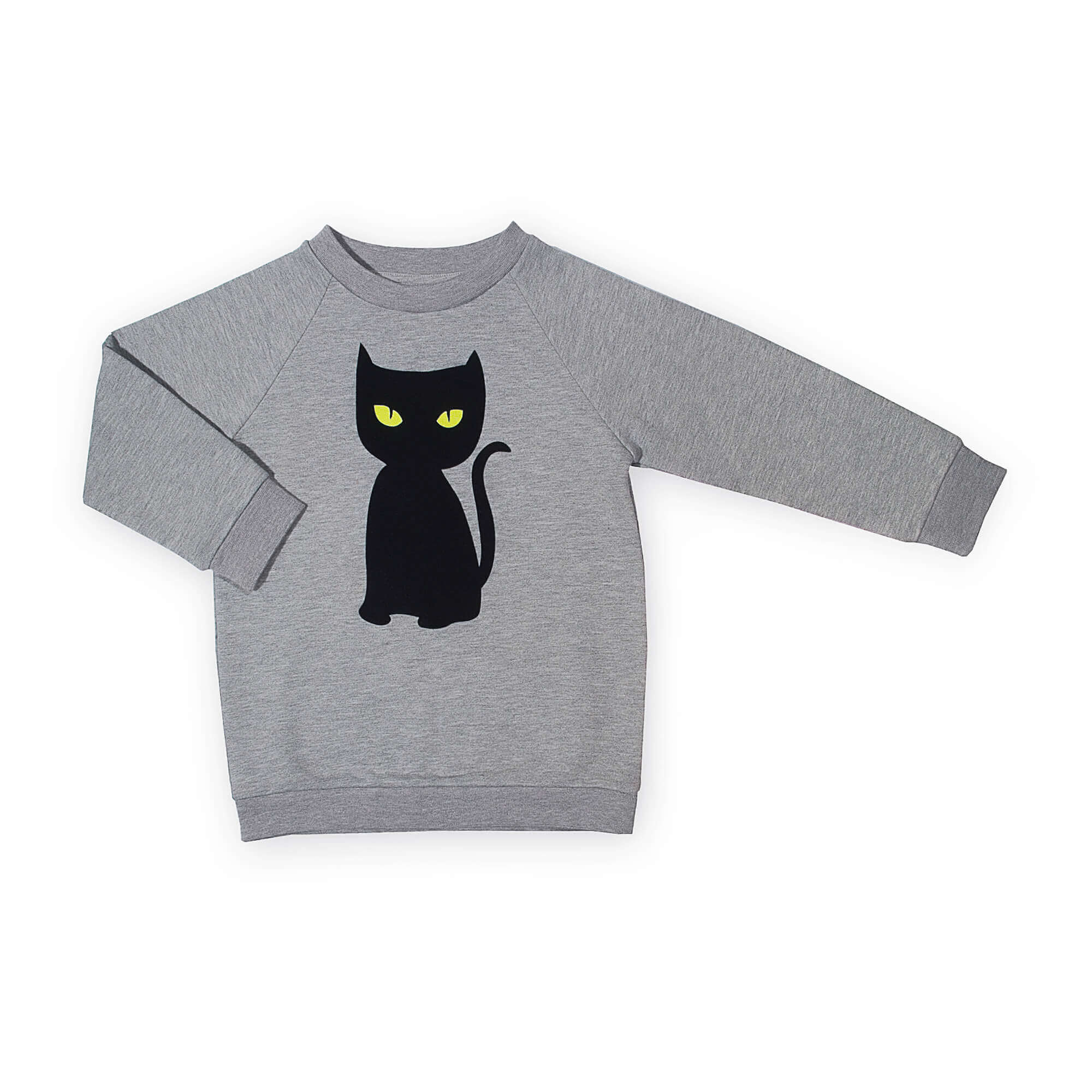 black cat sweater | organic | certified | Little Man Happy