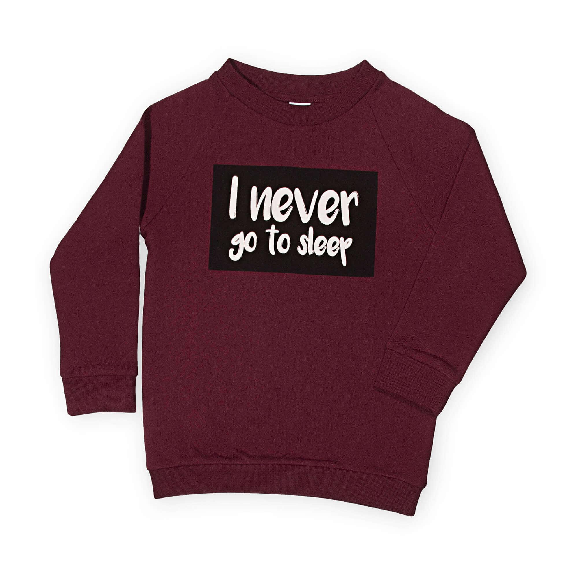 organic statement sweater | unisex | certified | Little Man Happy