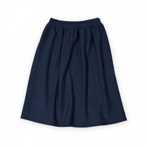 blue designer skirt | organic | certified | Little Man Happy