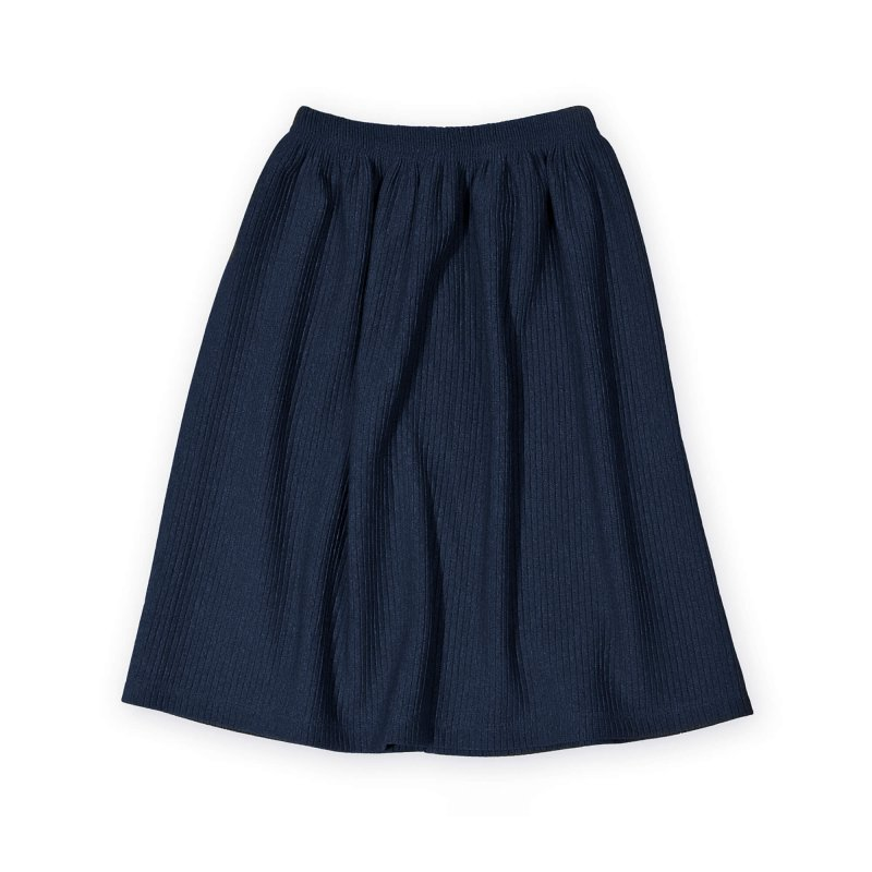 blue designer skirt | organic | certified | Little Man Happy