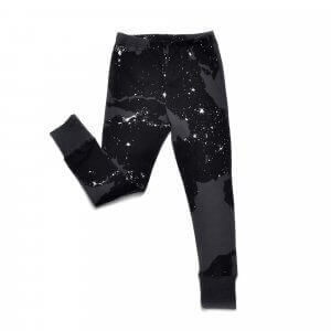 black slimpants | unisex | organic | Little Man Happy