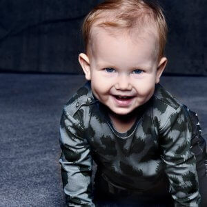 organic children longsleeve   unisex   certified   Little Man Happy