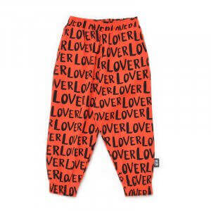 red kids pants