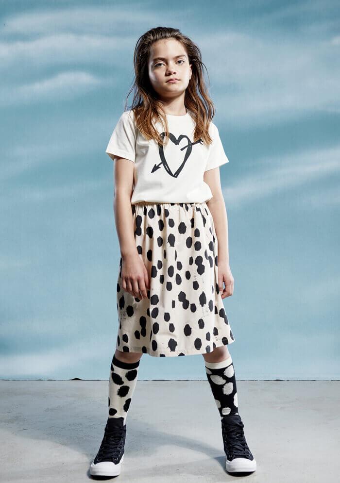 unisex kids top beautiful girls skirt