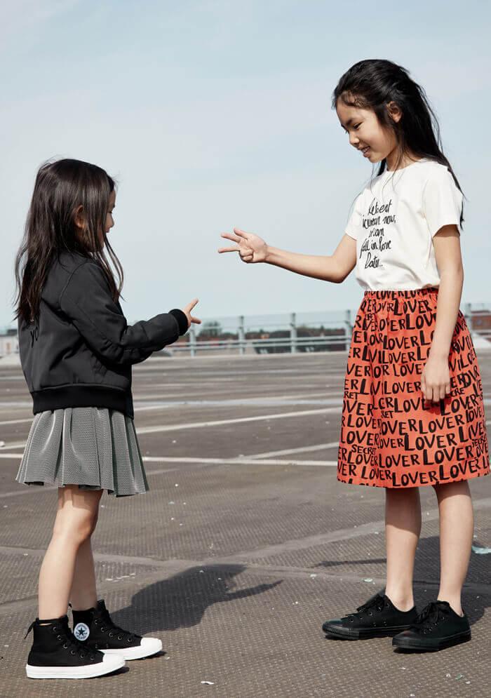 organic kids top organic girls skirt