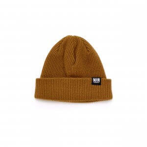 brown kids beanie