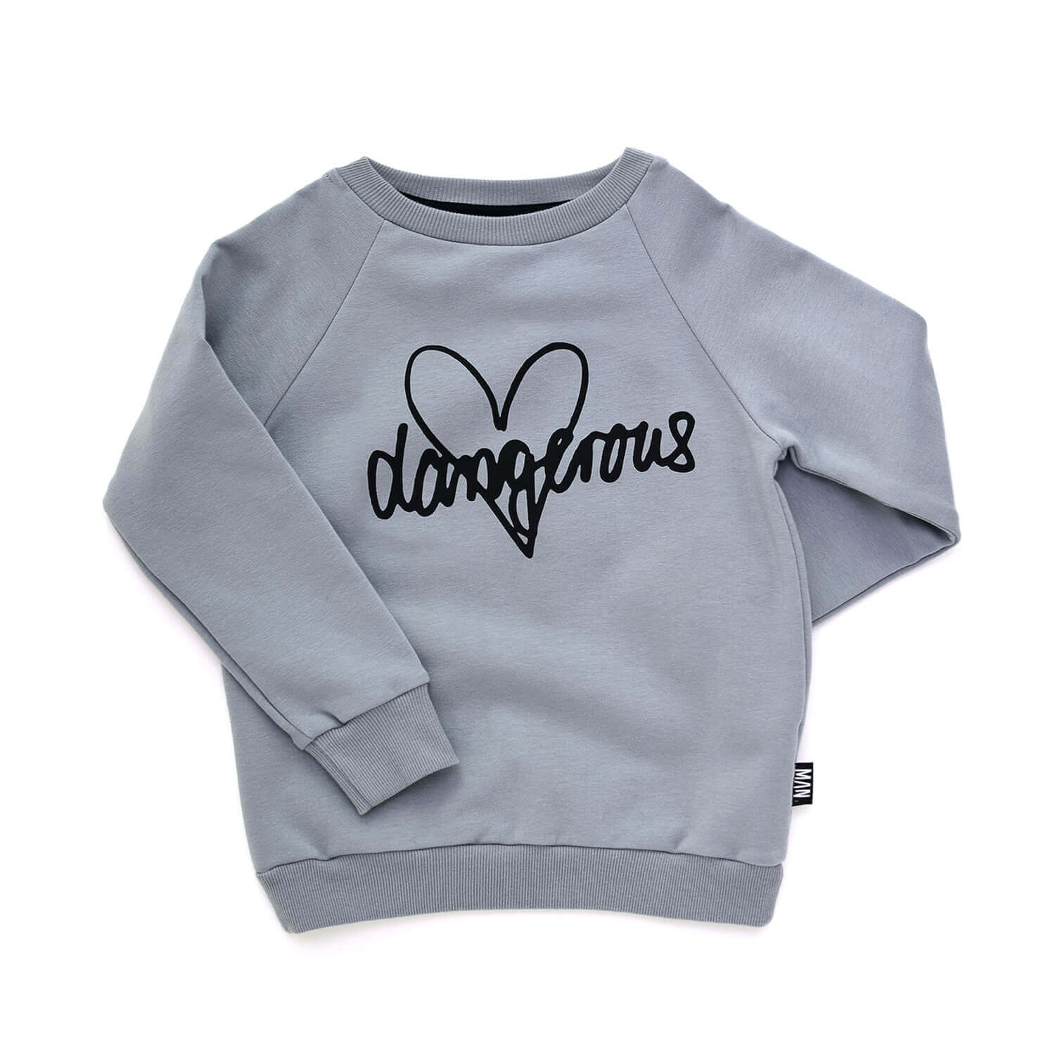grey designer kids sweater