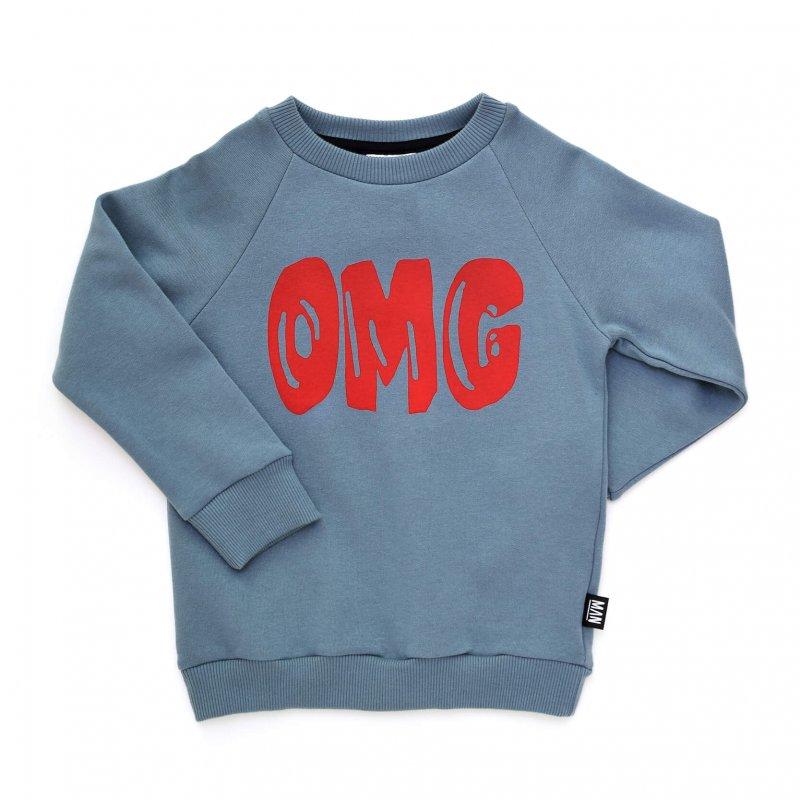 blue children sweater