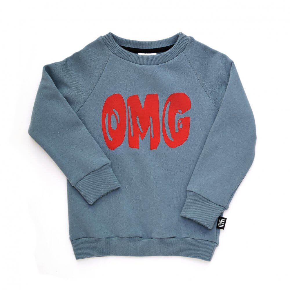 blue children sweater