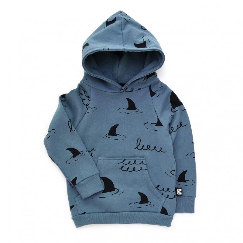 blue kids hoodie