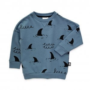blue kids sweater