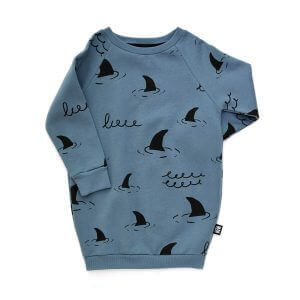 blue designer kids sweaterdress