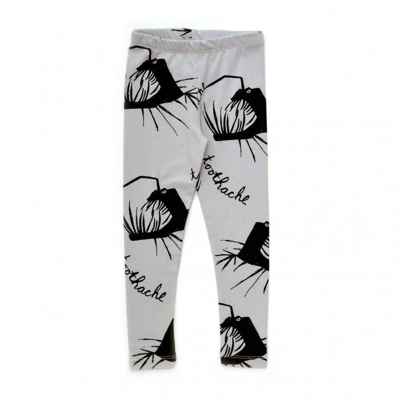 grey winter leggings