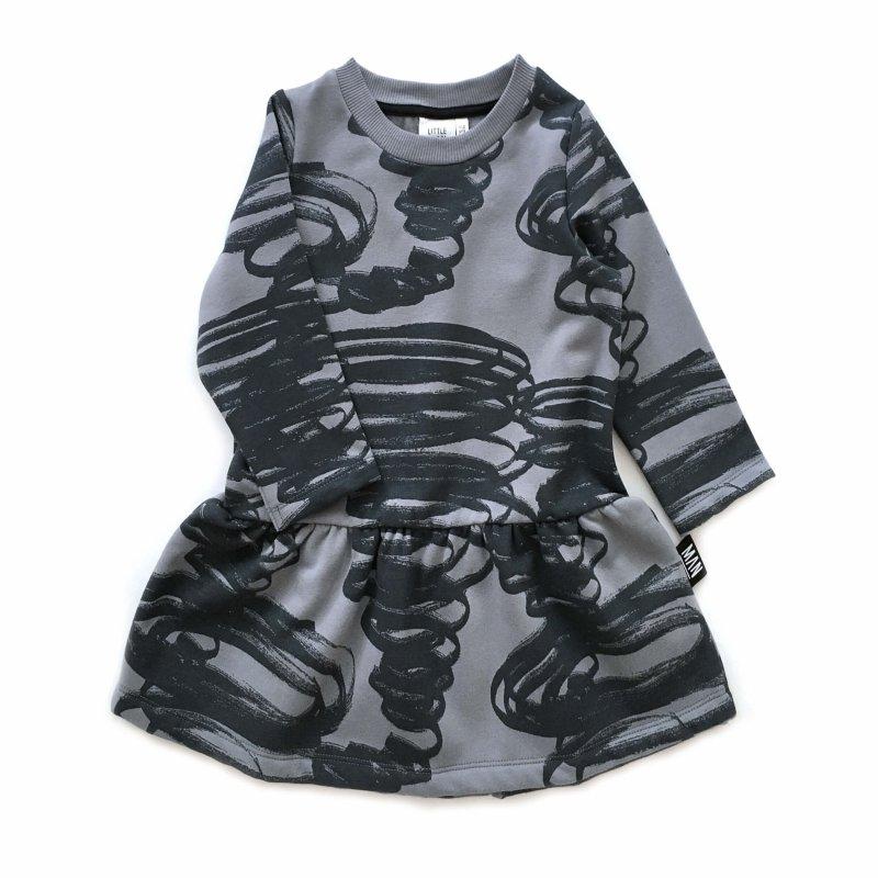 grey children dress