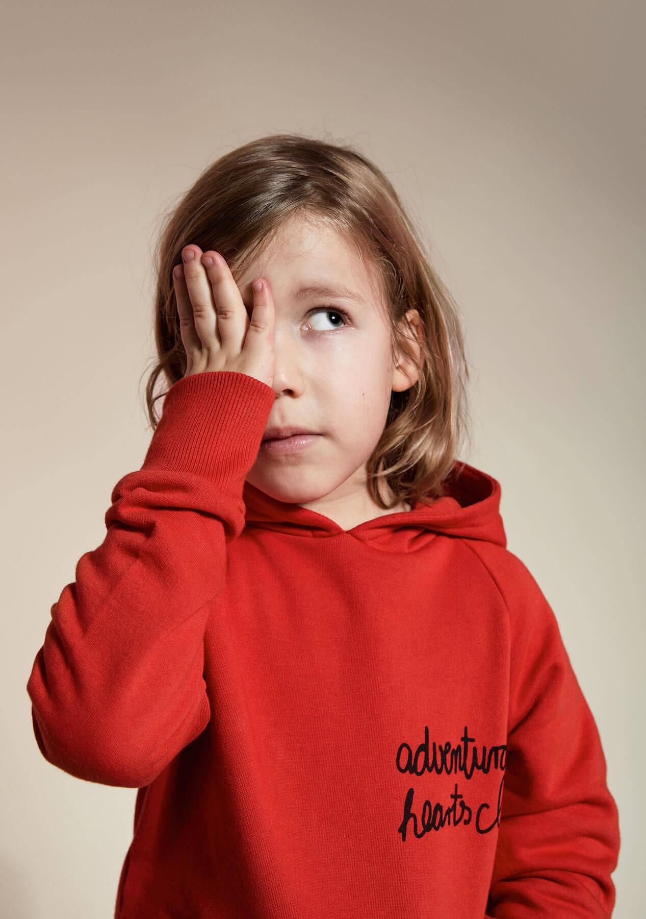 unisex kids hoodie