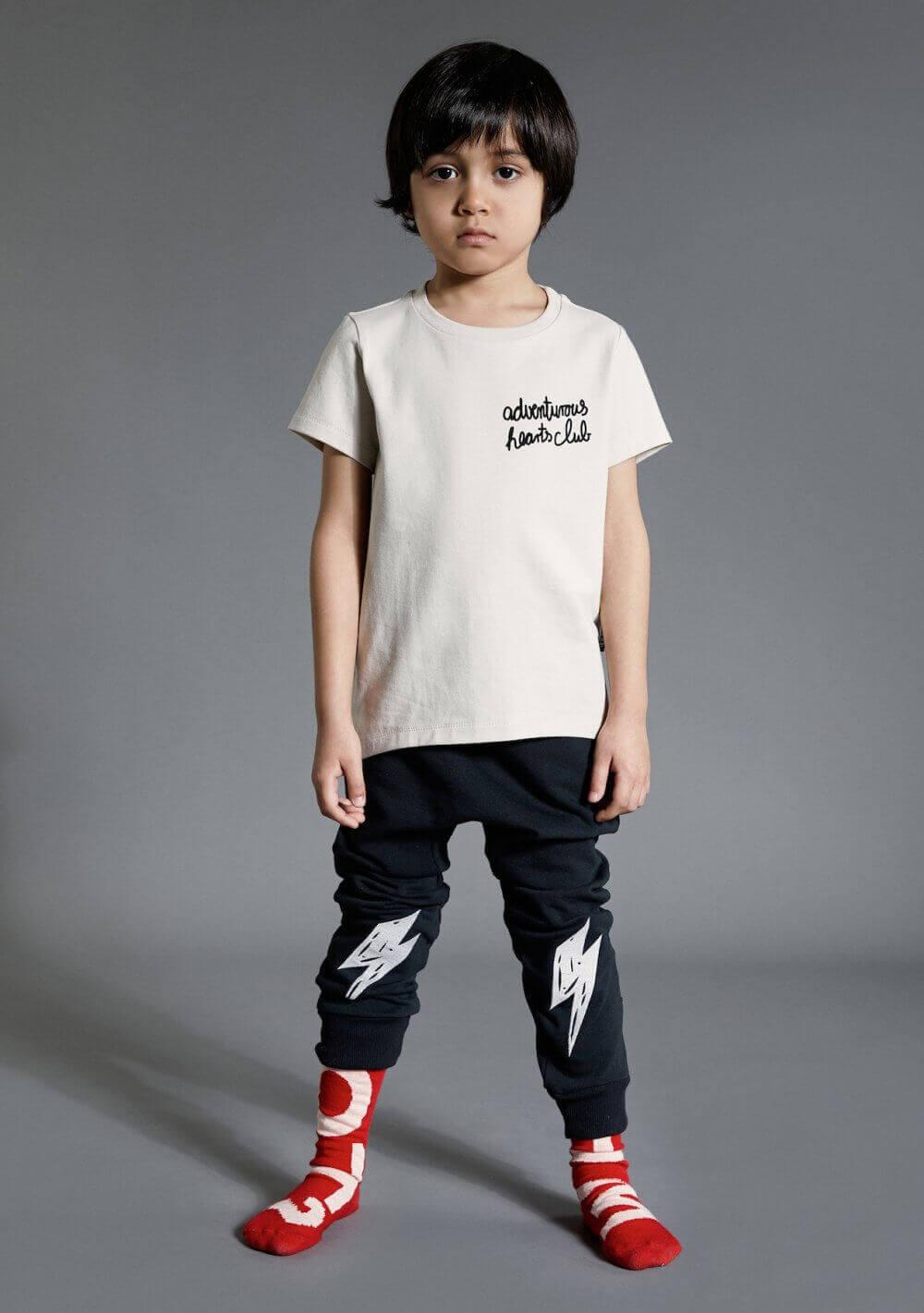 black kids pants