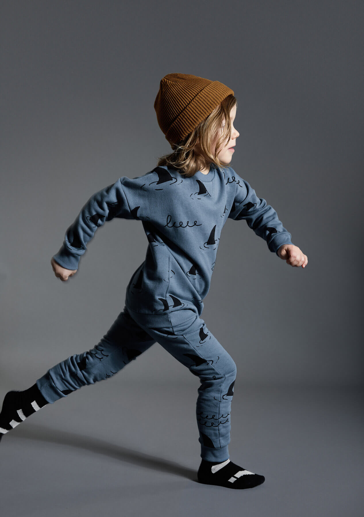 blue kids sweater