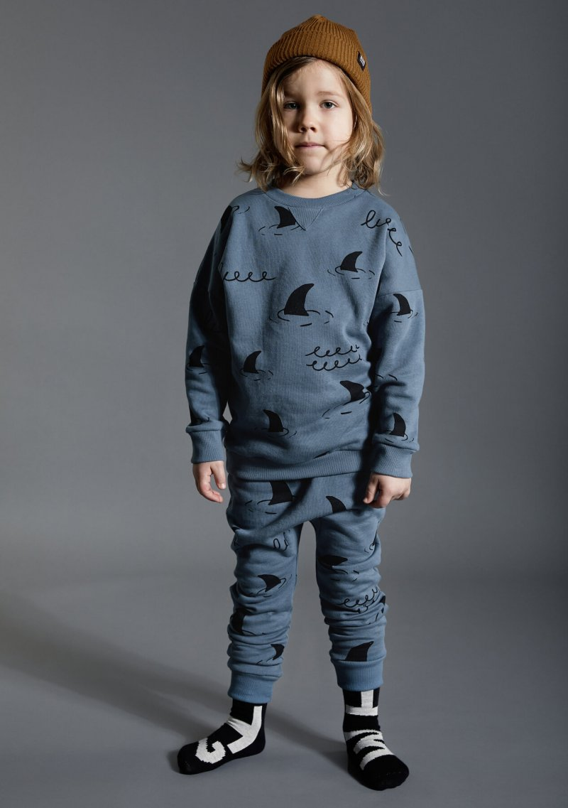 blue kids pants