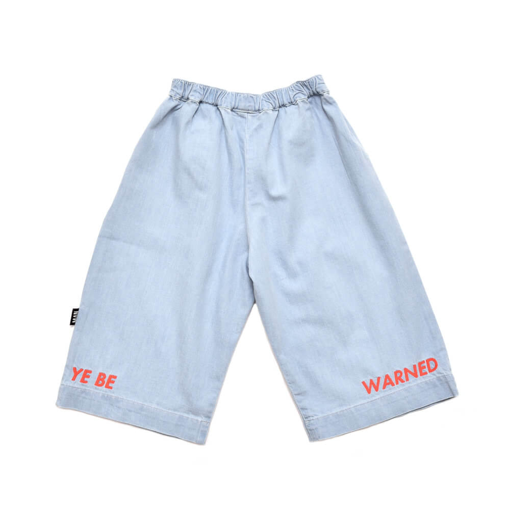 denim kids pants