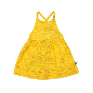 woven kids dress