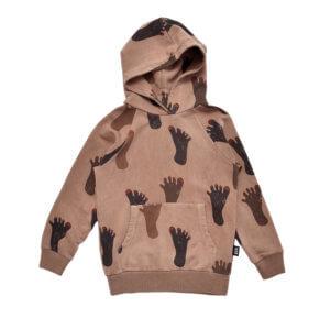 brown kids hoodie