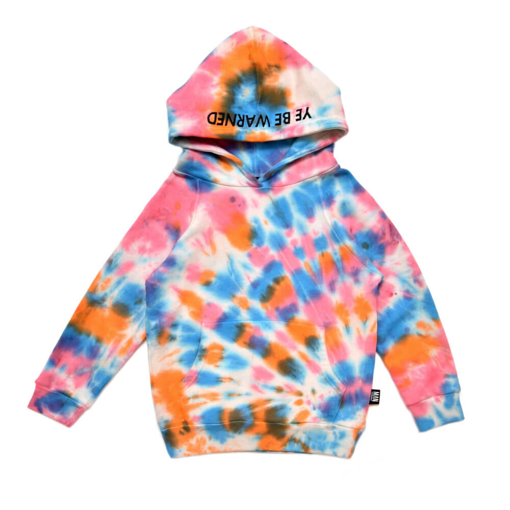multicolor kids hoodie front