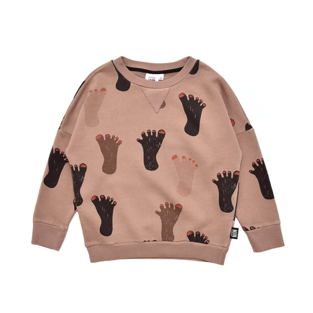 brown kids sweater